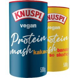 Knuspi Vegan Protein Mash 500 g + Knuspi Vegan Protein Crispbread 150g ZDARMA