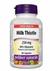 Webber Naturals Milk Thistle 60 kapslí