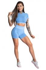 Gym Glamour Kraťásky Blue Ombre