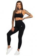 Gym Glamour Legíny Bezešvé Black Second Skin