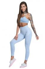 Gym Glamour legíny bezešvé dream blue