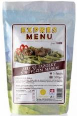 Expres menu Zelené fazolky s hovězím masem 300g