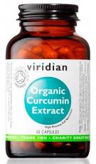 Viridian Organic Curcumin (Kurkumin) Extract 60 kapslí