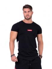Nebbia Pánské Tričko Red Label V-Typical 142 - černá