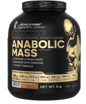 Kevin Levrone Anabolic Mass 3000 g + Kevin Levrone Fat Killer ZDARMA