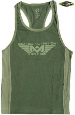 Scitec Muscle Army Tank Top zelený