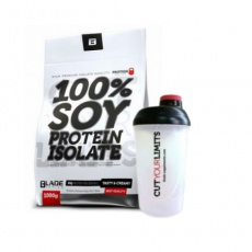 BS Blade 100% Soy Protein Isolate 1000 g + Blade Šejkr 600 ml ZDARMA