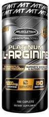 MuscleTech 100% Platinum L-Arginine 100 kasplí VÝPRODEJ