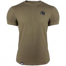 Gorilla Wear Pánské tričko Detroit T-shirt Army Green
