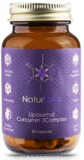 NaturLabs Liposomální Kurkumin 3Complex 30 kapslí