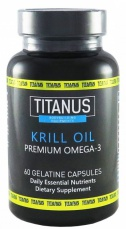Titánus Krill oil 60 kapslí