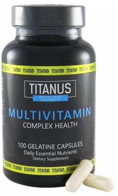 Titánus Multivitamin 100 kapslí