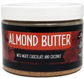 Titánus Mandlové máslo s bílou čokoládou a kokosem 500g