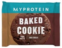MyProtein Baked cookie 75g - dvojitá čokoláda