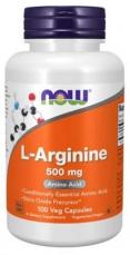 Now Foods L-Arginine 500mg 100 kapslí