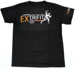 Extrifit Tričko  černé