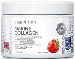Seagarden Marine Collagen + vitamin C 150 g - jahoda