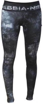 Nebbia Dámské elastické fitness legíny Batika 836 černé