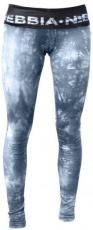 Nebbia Dámské elastické fitness legíny Batika 836 šedé