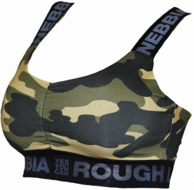 Nebbia Rough Camo Mini Tílko 206 (806)