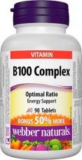 Webber Naturals B100 Complex 90 tablet