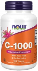 Now Foods Vitamin C 1000 mg 100 tablet