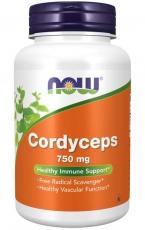 Now Foods Cordyceps 750 mg 90 kapslí