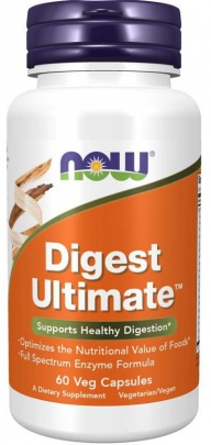 Now Foods Digest Ultimate 60 kapslí