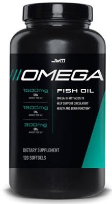 JYM Omega Fish Oil 120 kapslí