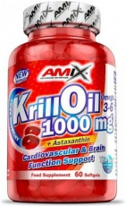 Amix Krill Oil 1000 mg 60 kapslí
