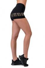 Nebbia Gold print šortky 828