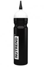 Nutrend Bidon sportovní lahev 1000 ml - černá s hubicí