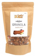 Lucky Alvin Cukrfree skořicová granola 200 g