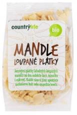 Country Life BIO Mandle loupané plátky 100 g