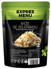 Expres menu Dušená rýže se zeleninou 400 g