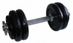 Acra Jednoruční litinová nakládací činka 15 kg