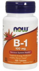 Now Foods Vitamin B1 100 mg 100 tablet