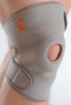 Neoprénová bandáž kolenní s otvorem