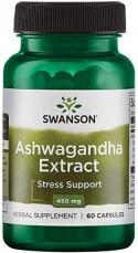 Swanson Ashwagandha Extract 450 mg 60 kapslí
