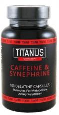 Titánus Caffeine & Synephrine 100 kapslí