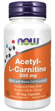 Now Foods Acetyl-L-Carnitine 500 mg