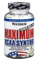Weider Maximum BCAA Syntho 120 kapslí