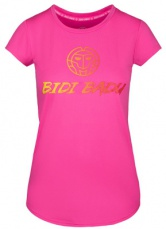 BIDI BADU Dámské tričko Coletta Basic Logo Tee Pink