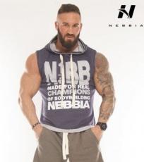 Nebbia Reg Top s kapucí 924 modrý DOPRODEJ
