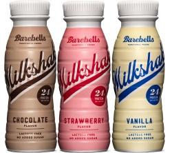 Barebells Milkshake 330 ml