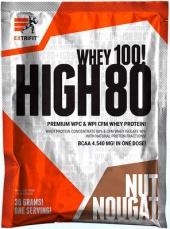 Extrifit High Whey 80 vzorek 30 g