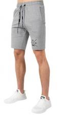 Gorilla Wear Pánské šortky Cisco Shorts Gray/Black