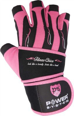 Power System rukavice FITNESS CHICA růžová