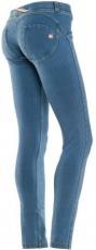 Freddy WR.UP® Jeans švětle modré