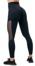 Nebbia Mesh legíny s vysokým pasem 573 black